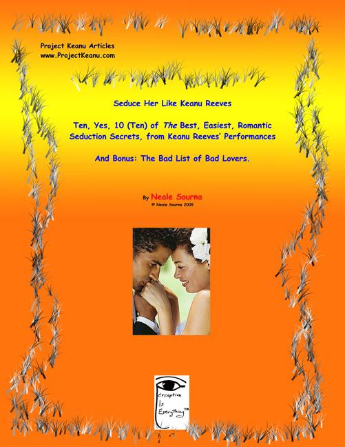 ebook cover of Seduce Her Like Keanu compilation by Neale Sourna