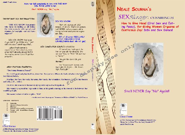 print book cover of Sexsinger: Cunnilingus by Neale Sourna
